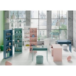 ESTANTERIA KIDS VERDE ACQUA