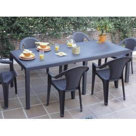 MESA EXTENSIBLE QUEEN 150/220X90 CM.
