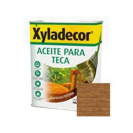 XYLADECOR ACEITE PARA TECA, INCOLORO 750 ML